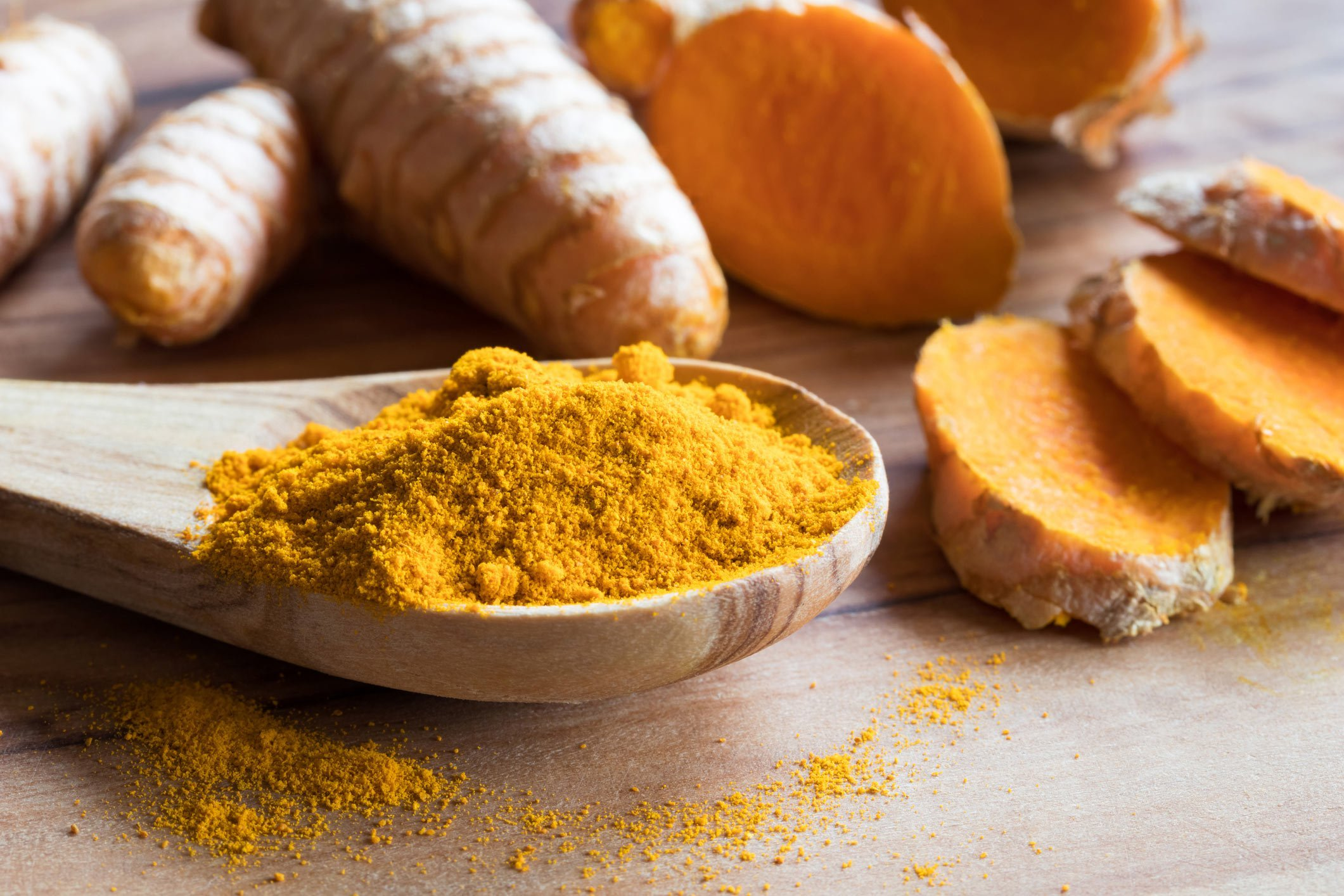 Top detoxifying foods: Turmeric
