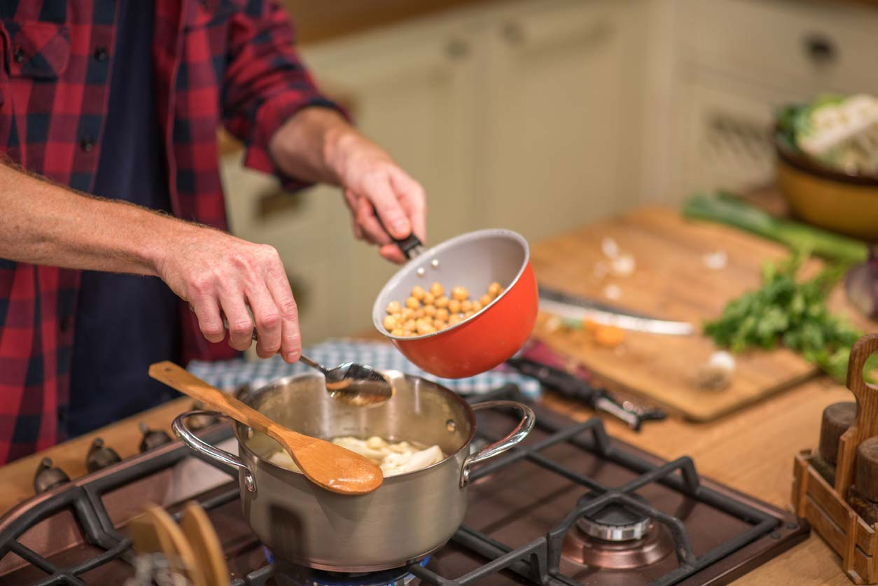 cooking with garbanzos