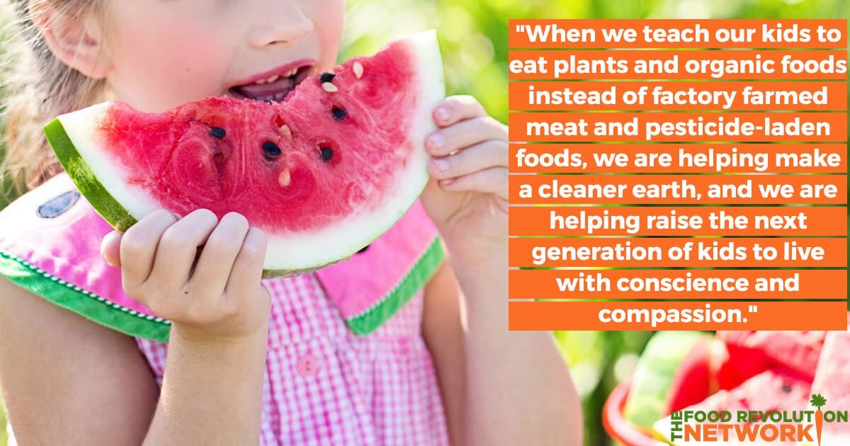 Tips for getting kids to eat healthy, plant-based food