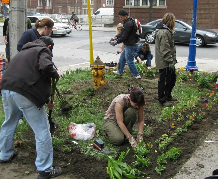 Gardening public spaces