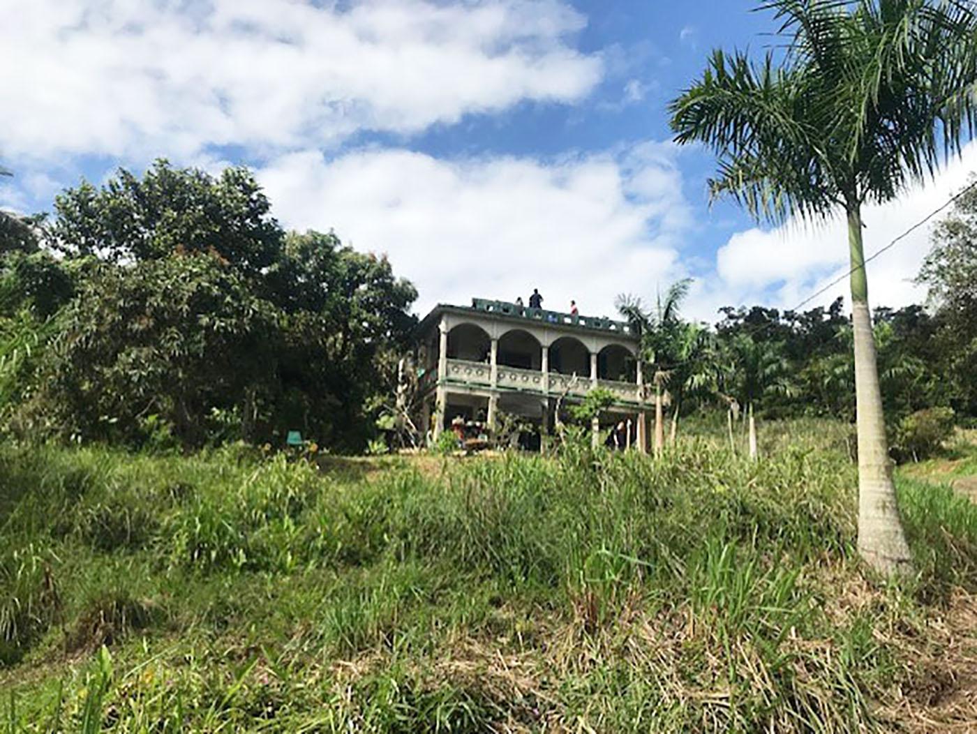 farmhouse on land