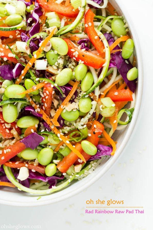 rad raw rainbow pad thai