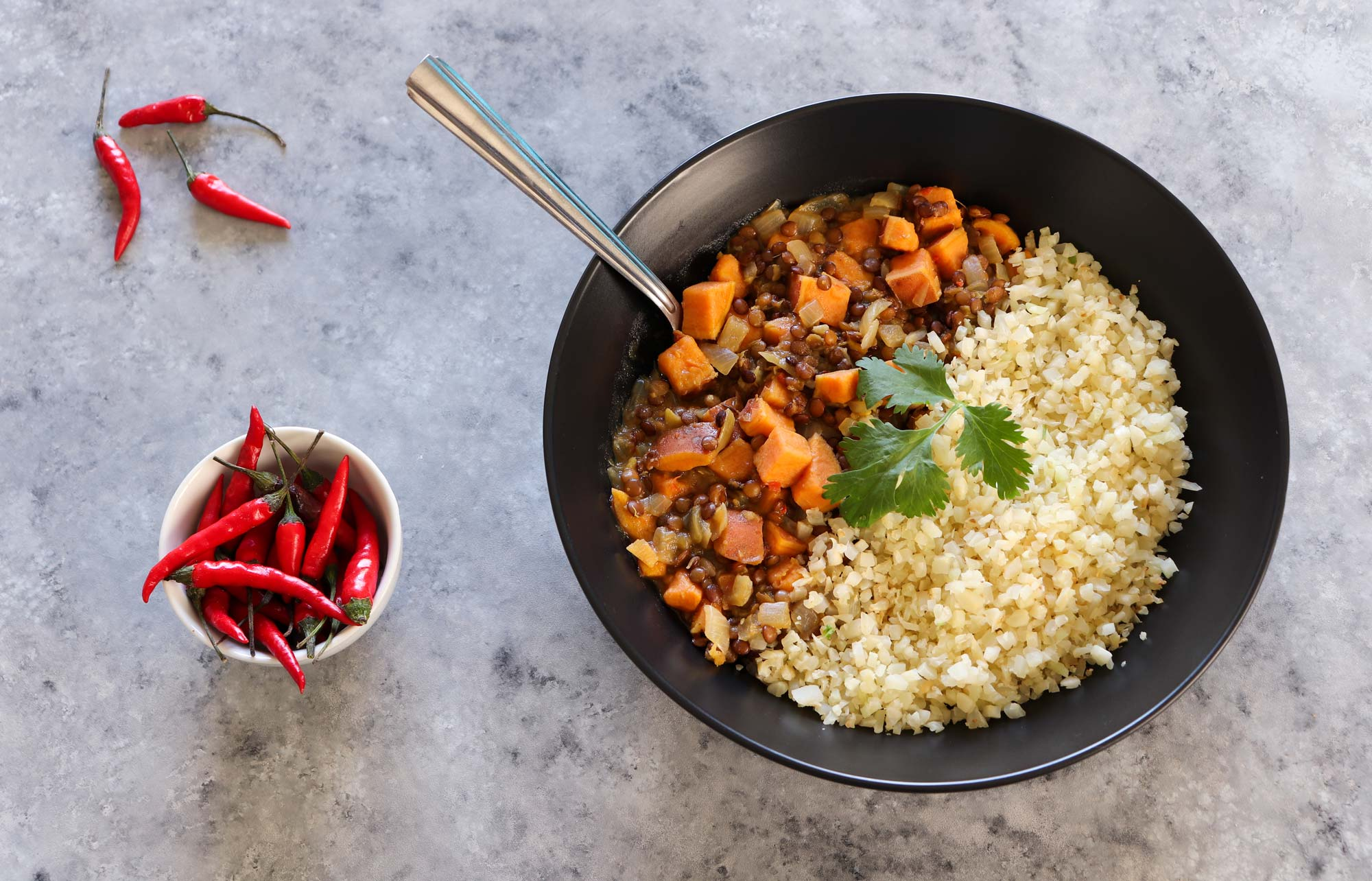 Plant-based dinner recipes: Red lentil curry