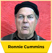 Ronnie Cummins- Cook Organic, Not The Planet