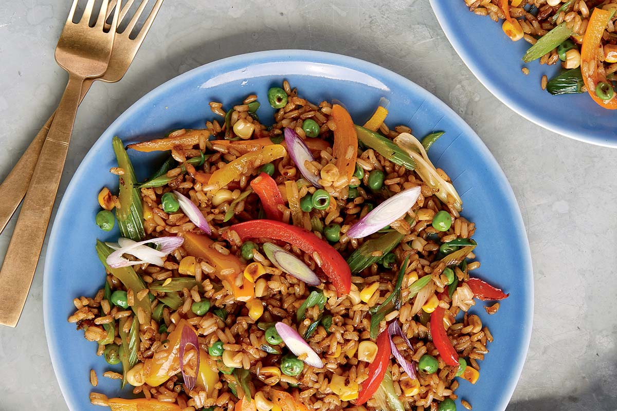Plant-based dinner recipes: Ten minute stir-fry