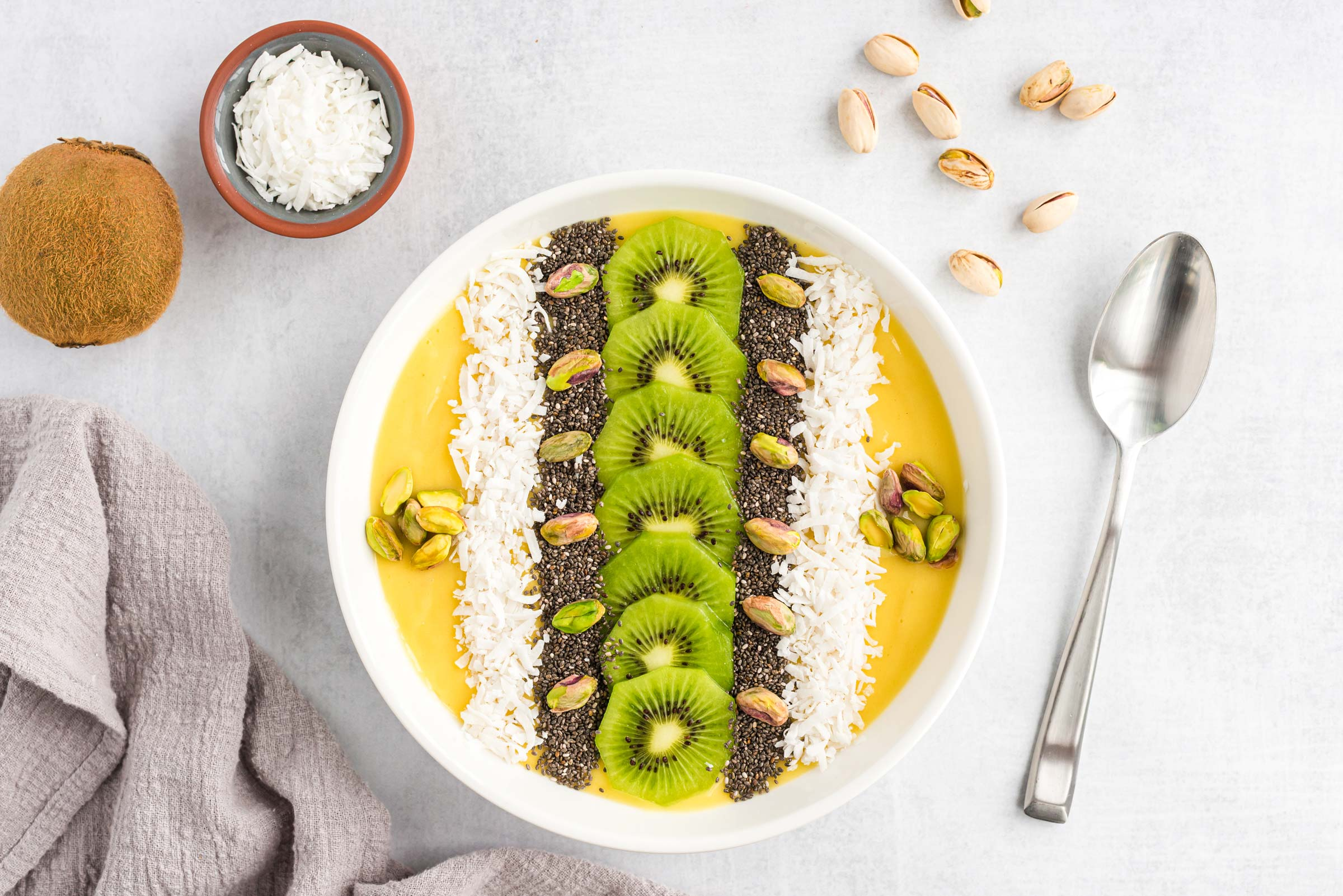 tropical delight smoothie bowl