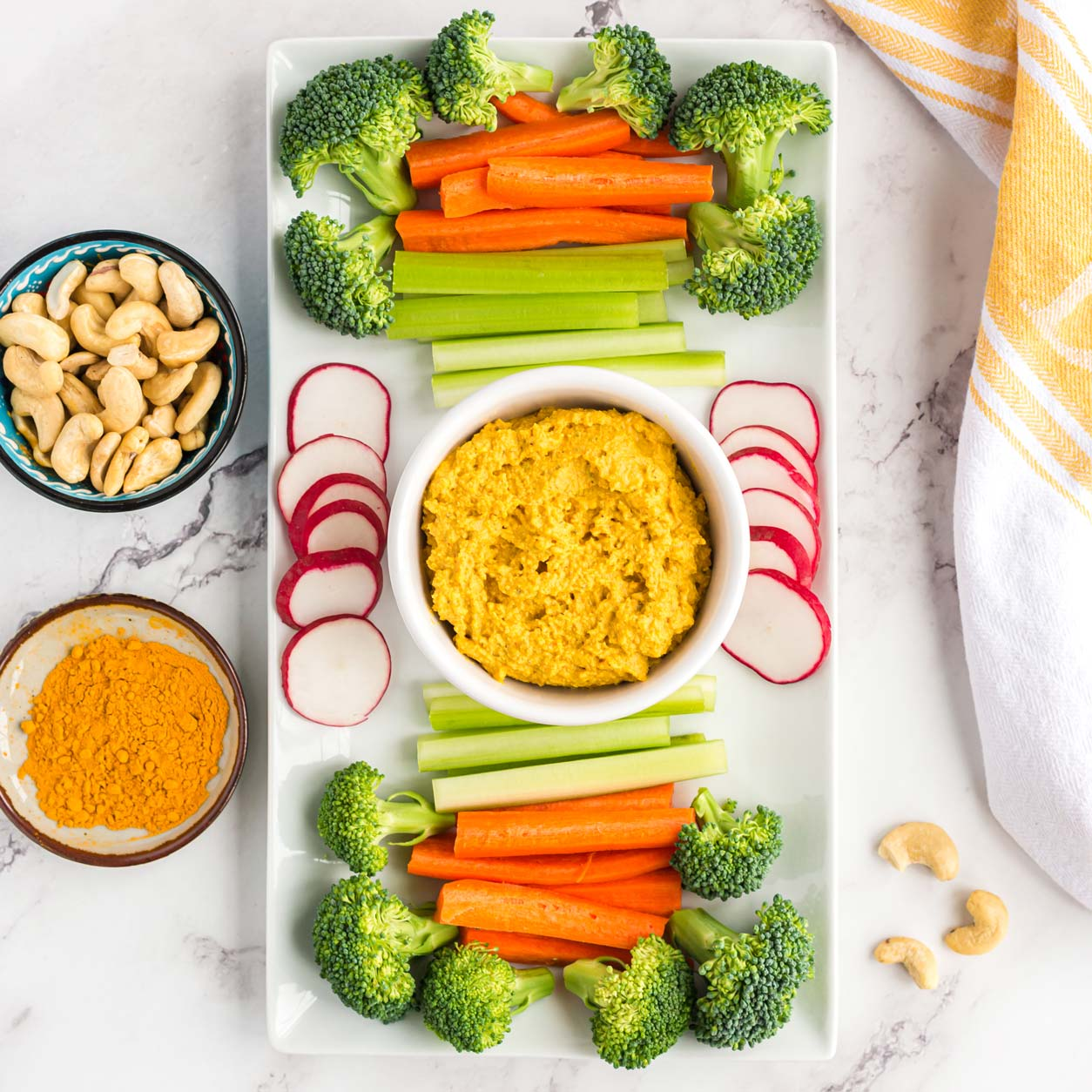 Easy plant based recipes: Turmeric Cashew Cheese