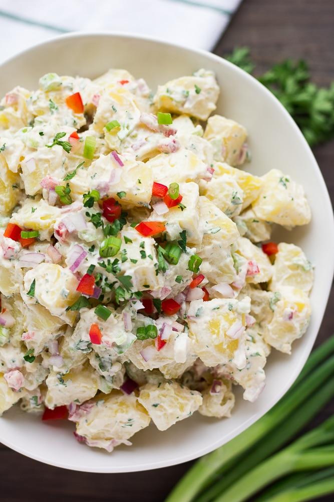 Oil-Free Classic Potato Salad