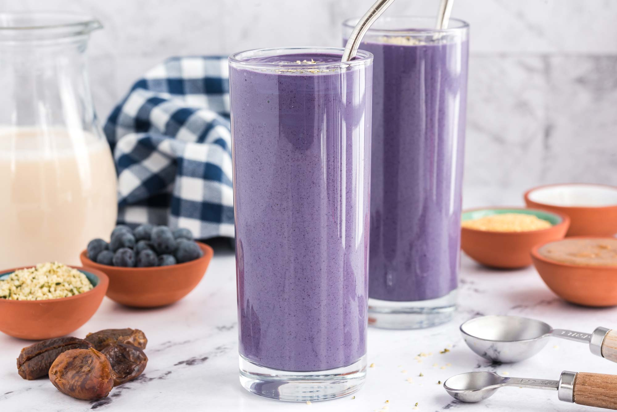 where to get your protein smoothie in glasses